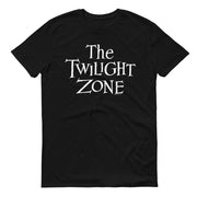The Twilight Zone Logo Adult Short Sleeve T-Shirt