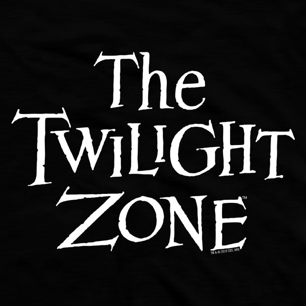 The Twilight Zone Logo Fleece Hooded Sweatshirt