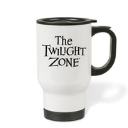 The Twilight Zone Logo Stainless Steel Travel Mug | Official CBS Entertainment Store