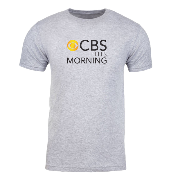 CBS News This Morning Logo Adult Short Sleeve T-Shirt
