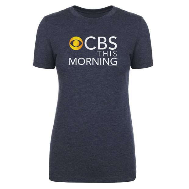 CBS News This Morning Logo Women's Tri-Blend T-Shirt