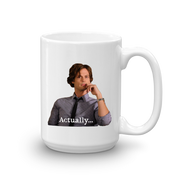 Criminal Minds Spencer Reid Actually... White Mug | Official CBS Entertainment Store