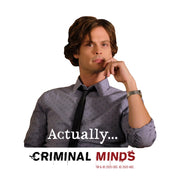 Criminal Minds Spencer Reid Actually... 16 oz Stainless Steel Thermal Travel Mug | Official CBS Entertainment Store