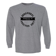 Criminal Minds Behavioral Analysis Unit Adult Long Sleeve T-Shirt