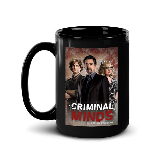 Criminal Minds Cast Black Mug | Official CBS Entertainment Store