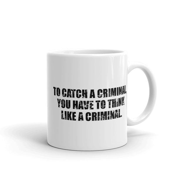 Criminal Minds Catch White Mug