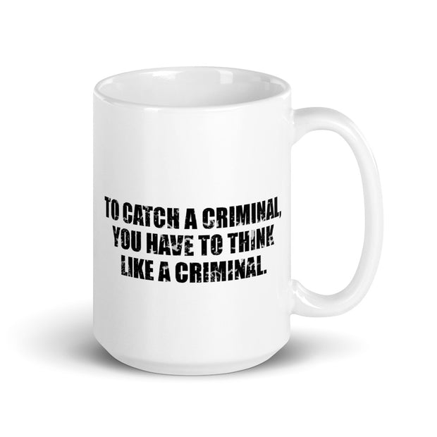 Criminal Minds Catch White Mug | Official CBS Entertainment Store