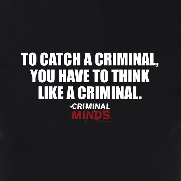 Criminal Minds To Catch a Criminal Adult Short Sleeve T-Shirt