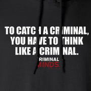 Criminal Minds To Catch a Criminal Fleece Hooded Sweatshirt