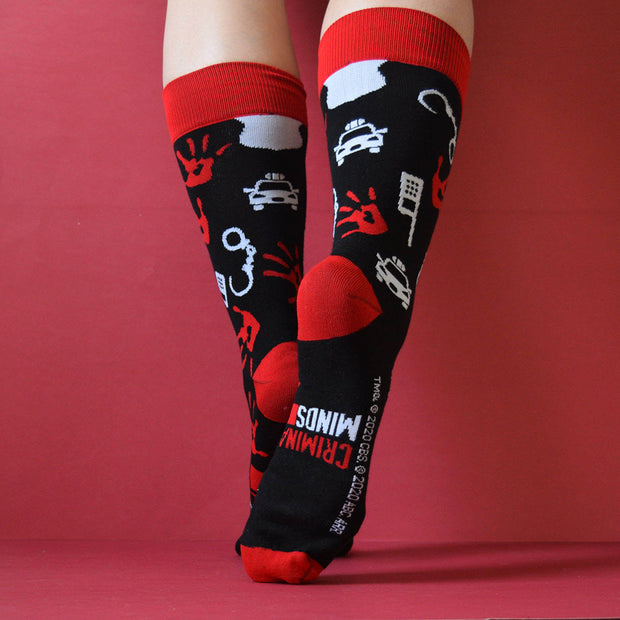 Criminal Minds Icon Mash Up Socks | Official CBS Entertainment Store
