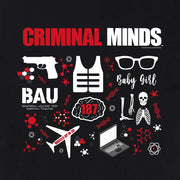 Criminal Minds Icon Mashup Adult Short Sleeve T-Shirt