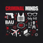 Criminal Minds Icon Mashup Women's Short Sleeve T-Shirt