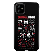 Criminal Minds Icon Mashup Tough Phone Case | Official CBS Entertainment Store