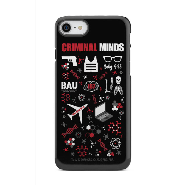 Criminal Minds Icon Mashup Tough Phone Case
