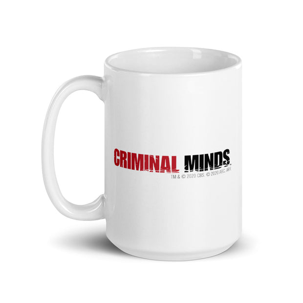 Criminal Minds Obsessive Criminal Minds Disorder White Mug | Official CBS Entertainment Store