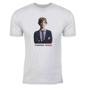 Criminal Minds Spencer Reid Men's Tri-Blend T-Shirt | Official CBS Entertainment Store