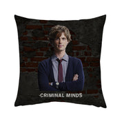Criminal Minds Spencer Reid Throw Pillow | Official CBS Entertainment Store