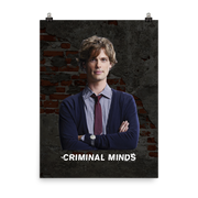 Criminal Minds Spencer Reid Premium Satin Poster | Official CBS Entertainment Store