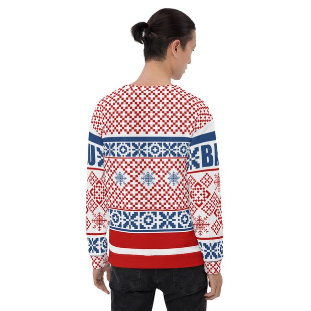 Criminal Minds Mrs. Spencer Reid Holiday Adult All-Over Print Sweatshirt | Official CBS Entertainment Store