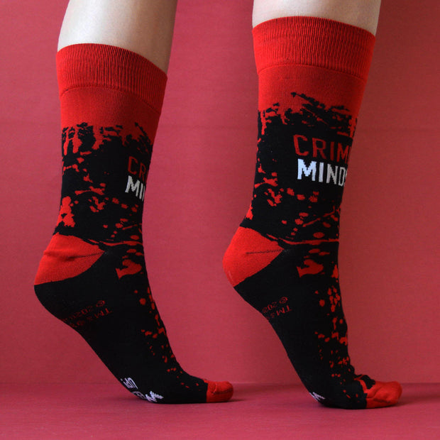 Criminal Minds Wheels Up Socks | Official CBS Entertainment Store