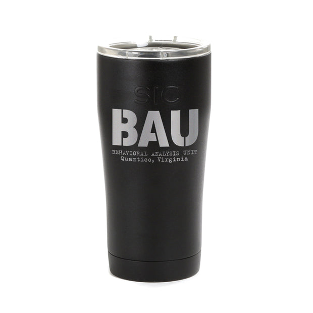 Criminal Minds BAU Laser Engraved SIC Tumbler | Official CBS Entertainment Store