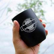 CSI: Crime Scene Investigation Logo Badge Wine Tumbler | Official CBS Entertainment Store