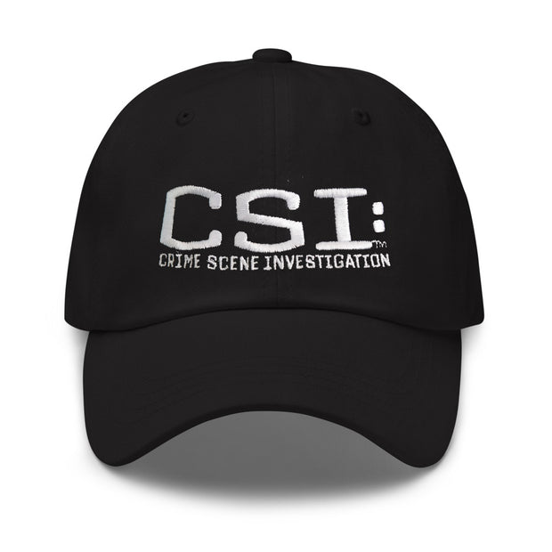 CSI: Crime Scene Investigation Logo Embroidered Hat | Official CBS Entertainment Store
