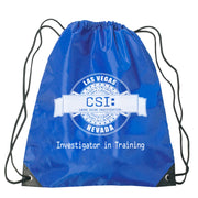 CSI: Crime Scene Investigation Investigator in Training Drawstring Bag | Official CBS Entertainment Store