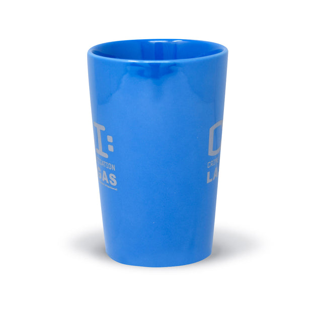 CSI: Crime Scene Investigation Logo Blue Luster Mug | Official CBS Entertainment Store