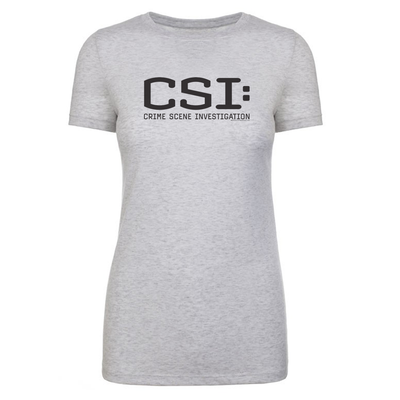 CSI: Crime Scene Investigation Women's Tri-Blend T-Shirt | Official CBS Entertainment Store