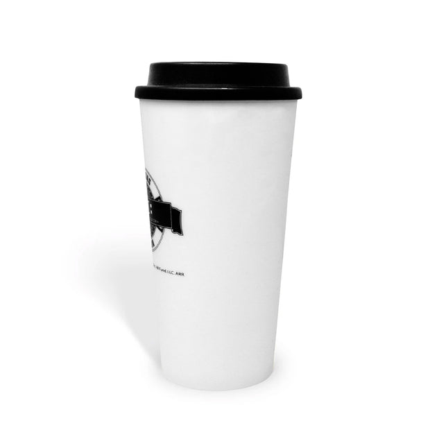 CSI: Crime Scene Investigation Logo Badge Travel Mug | Official CBS Entertainment Store