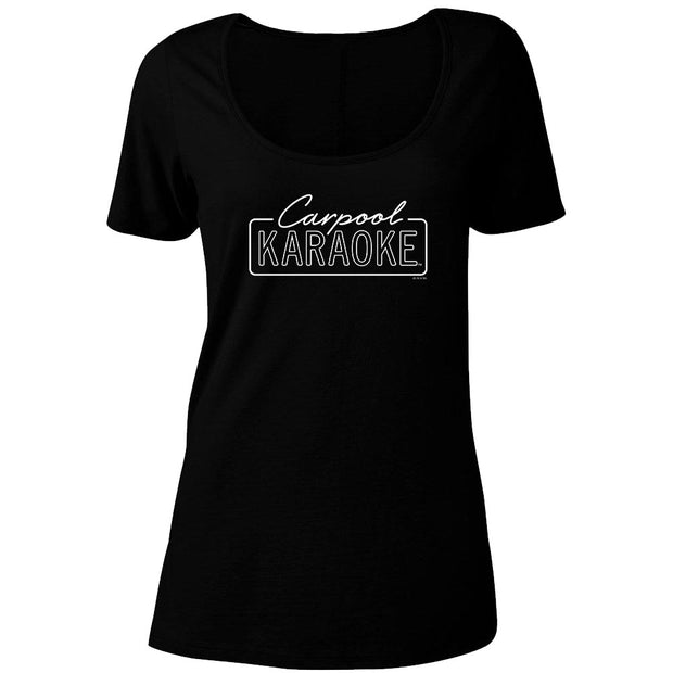 Carpool Karaoke Women's Relaxed Scoop Neck T-Shirt