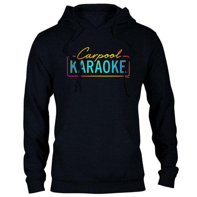 Carpool Karaoke Neon Logo Hooded Sweatshirt