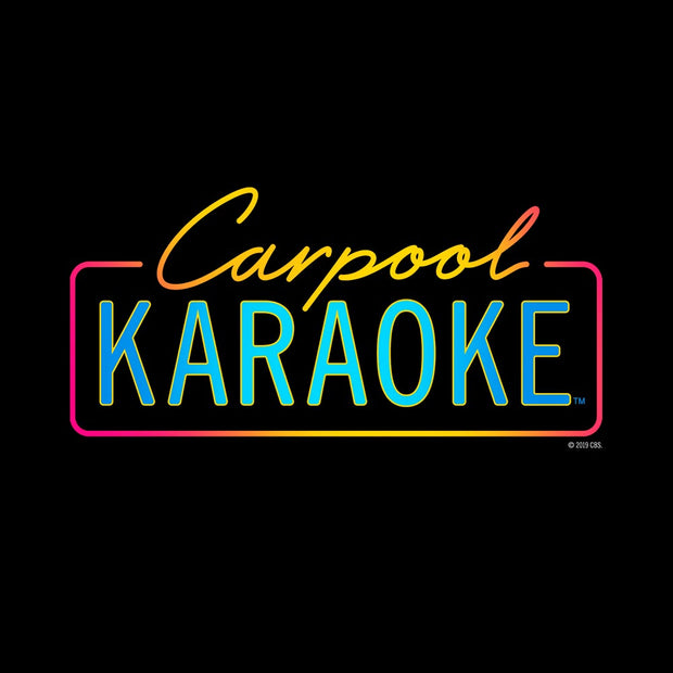 Carpool Karaoke Neon Logo Hooded Sweatshirt | Official CBS Entertainment Store