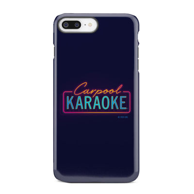 Carpool Karaoke Neon Logo Tough Phone Case