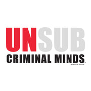 Criminal Minds Unsub 11 oz White Mug | Official CBS Entertainment Store