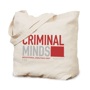 Criminal Minds BAU Quantico Canvas Tote Bag | Official CBS Entertainment Store