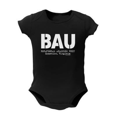 Criminal Minds BAU Baby Bodysuit | Official CBS Entertainment Store