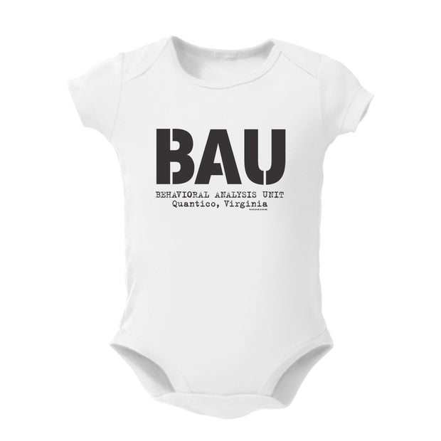 Criminal Minds BAU Baby Bodysuit
