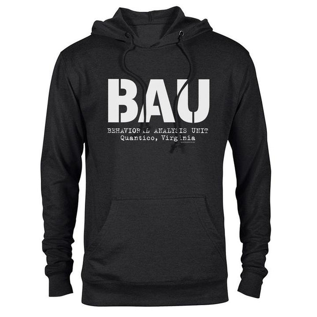 Criminal Minds BAU Lightweight Hooded Sweatshirt