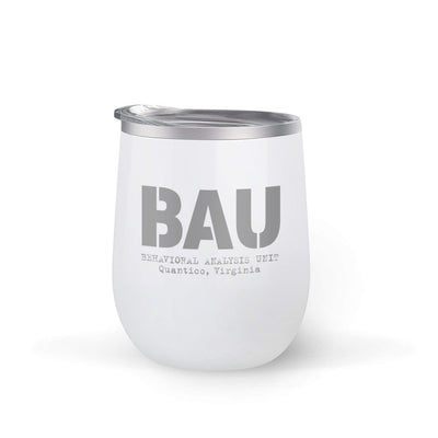 Criminal Minds BAU 12 oz Wine Tumbler