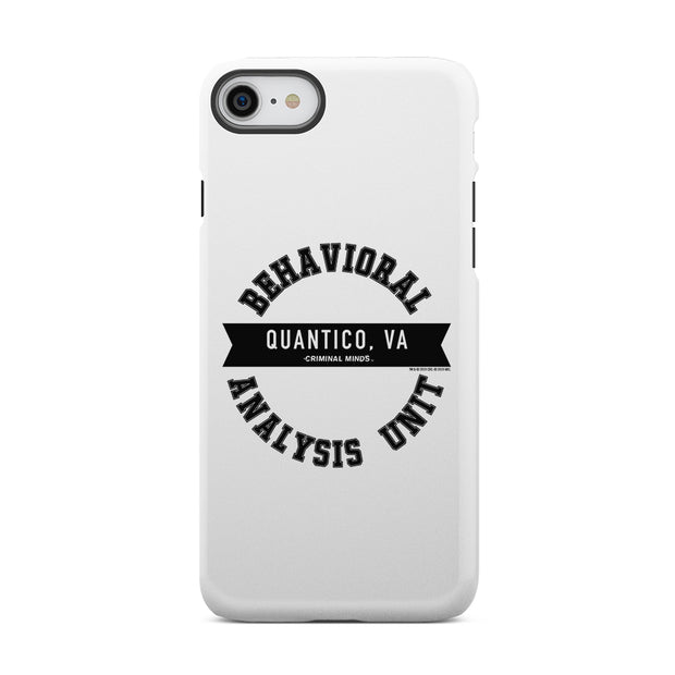 Criminal Minds Behavioral Analysis Unit Tough Phone Case | Official CBS Entertainment Store