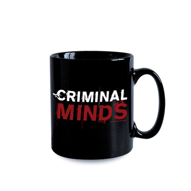Criminal Minds Logo Black 11 oz Mug | Official CBS Entertainment Store