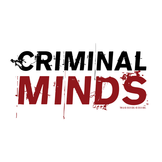 Criminal Minds Logo White 11 oz Mug | Official CBS Entertainment Store