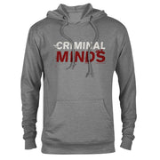 Criminal Minds Logo Lightweight Hooded Sweatshirt