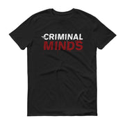 Criminal Minds Logo Adult Short Sleeve T-Shirt