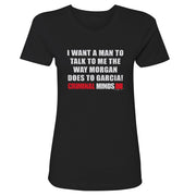 Criminal Minds Morgan and Garcia Women's Short Sleeve T-Shirt