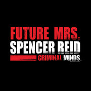 Criminal Minds Future Mrs. Spencer Reid 11 oz Black Mug | Official CBS Entertainment Store