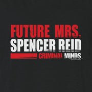 Criminal Minds Future Mrs. Spencer Reid Women's Slouchy V-Neck T-Shirt | Official CBS Entertainment Store