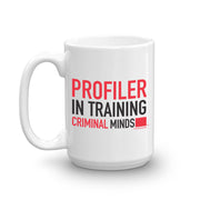 Criminal Minds Profiler In Training Personalized 15 oz White Mug